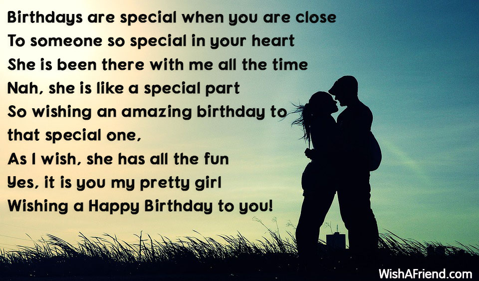 Birthdays Are Special When You Are Birthday Quote For Wife