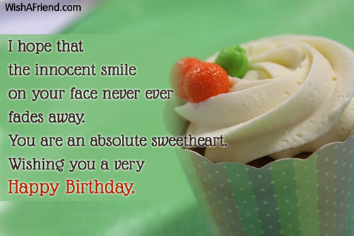 Stupendous I Hope That The Innocent Smile Birthday Wish For Kids Personalised Birthday Cards Paralily Jamesorg