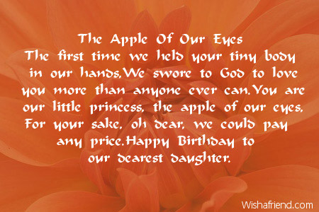 1975 Daughter Birthday Poems