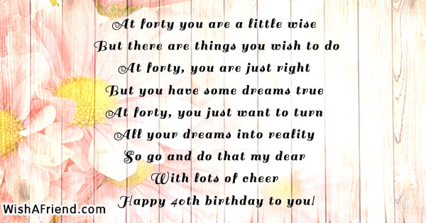 40th Birthday Quotes 40th Birthday Quotes 40th Birthday Quotes