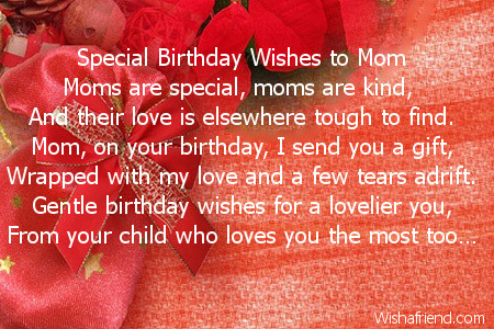 2024 Mom Birthday Poems
