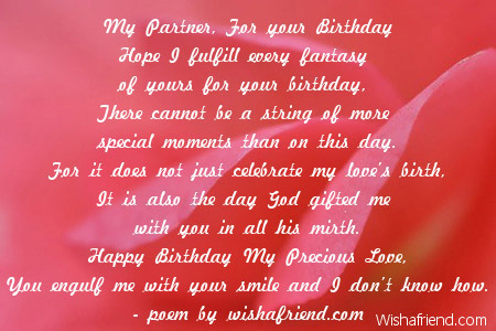 2032 Girlfriend Birthday Poems