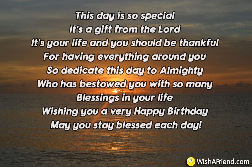 This Day Is So Special Its Religious Birthday Quote