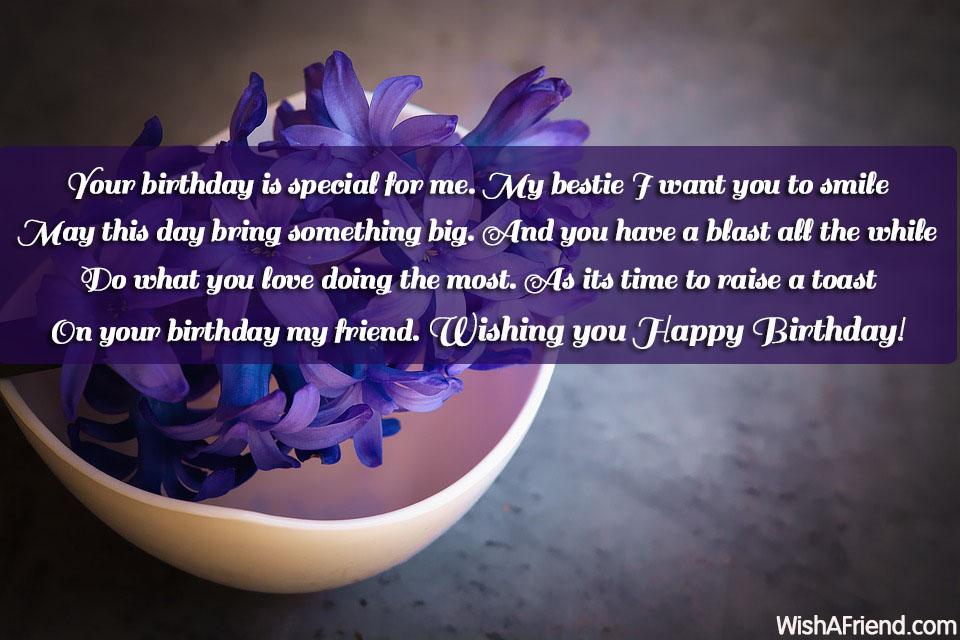 20890 Best Friend Birthday Wishes
