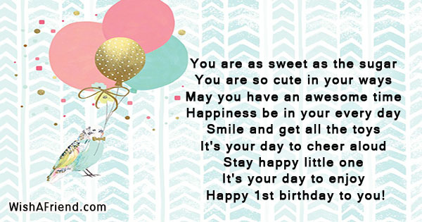 1st birthday wishes page 3