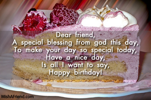 2111 Friends Birthday Wishes Dear Friend
