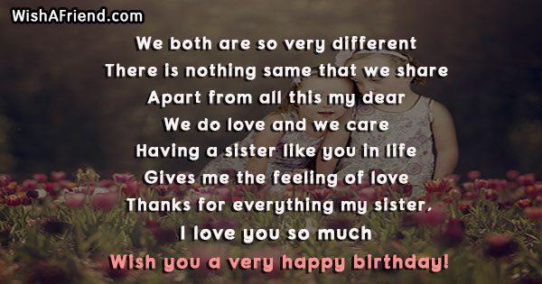 Admirable Sister Birthday Quotes Funny Birthday Cards Online Inifofree Goldxyz