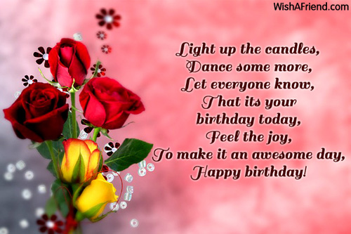 Light Up The Candles Dance Some Happy Birthday Wish