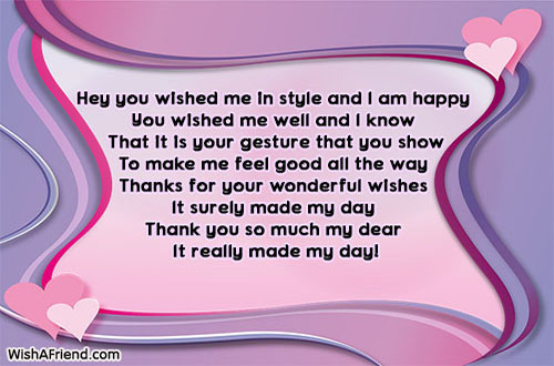 Thank you for the birthday wishes page 7 21300 thank you for the birthday wishes m4hsunfo