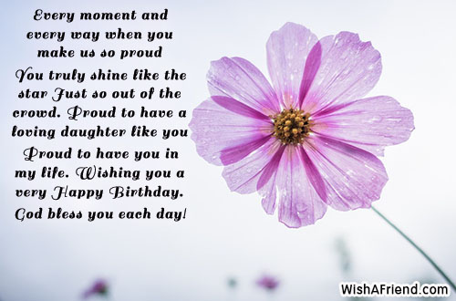 Birthday Wishes For Daughter - Page 2