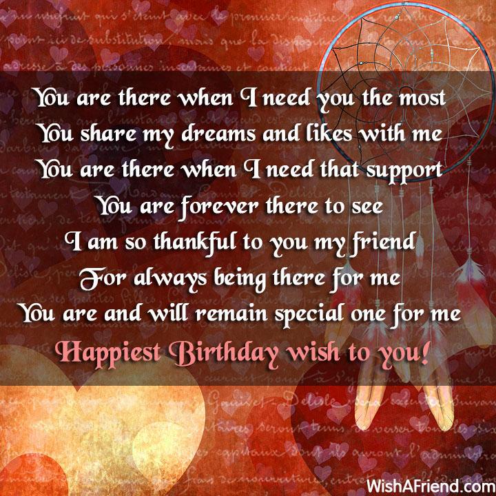 22641 Best Friend Birthday Wishes