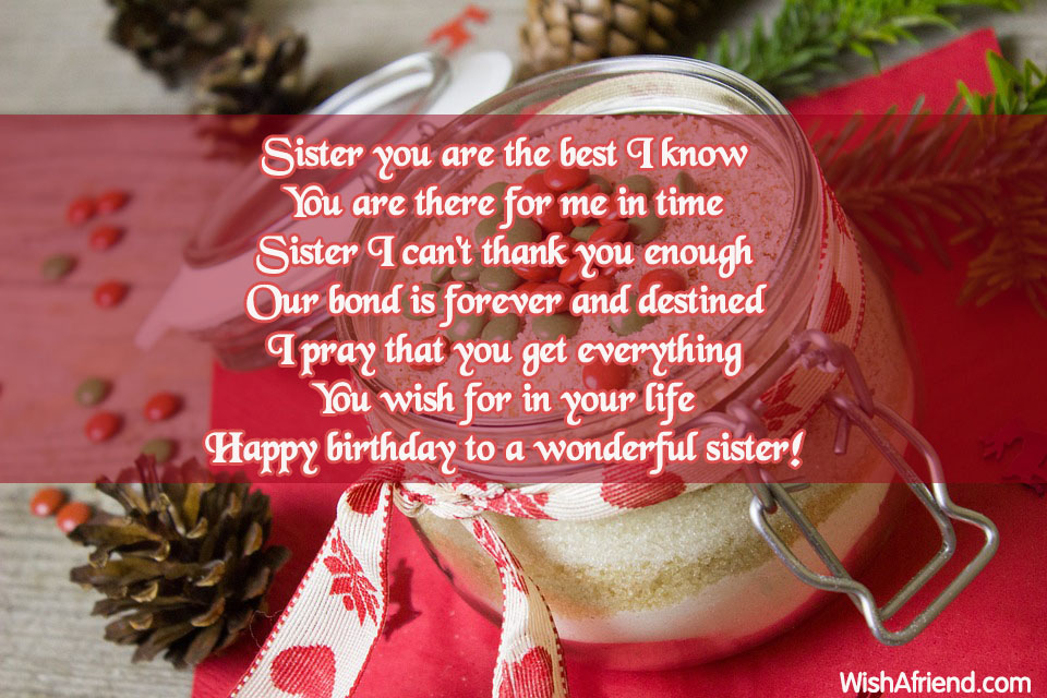 Birthday Wishes For Sister Page 13