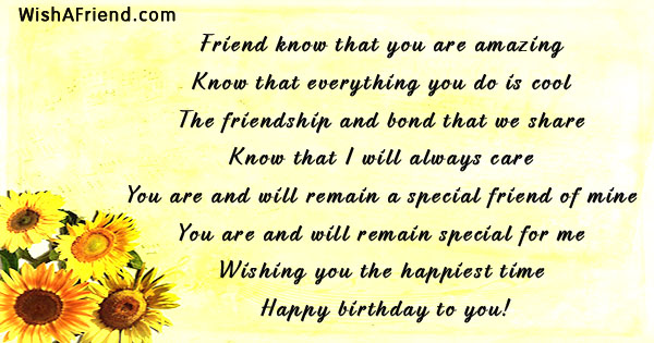 Friends Birthday Quotes Page 2