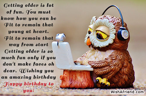 Funny Birthday Messages Page 2