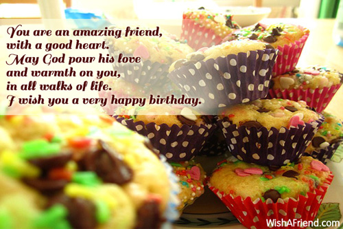 Happy Birthday Wishes Artinya ~ You are an amazing friend with birthday wishes for friends