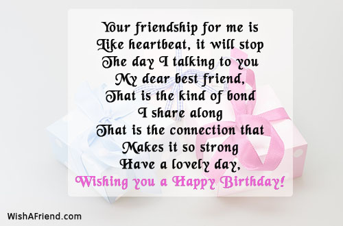 24775 Best Friend Birthday Wishes