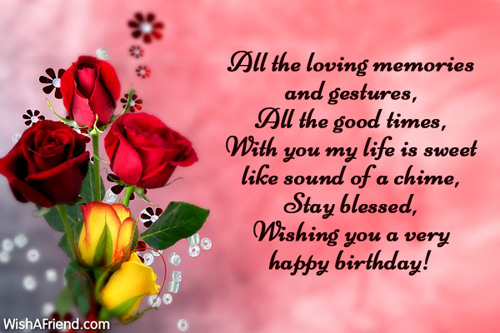 2578 Husband Birthday Messages