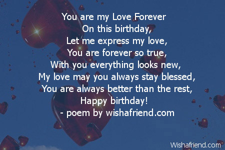 Boyfriend Birthday Poems Page 2