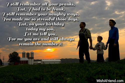 2862 Son Birthday Wishes