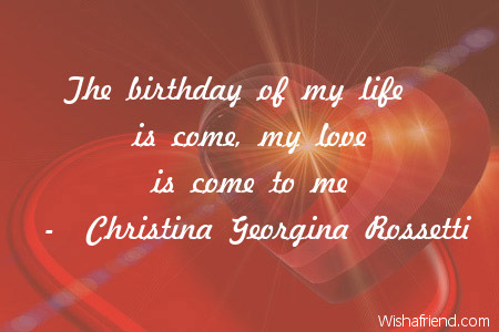 Love Birthday Quotes Stunning Love Birthday Quotes