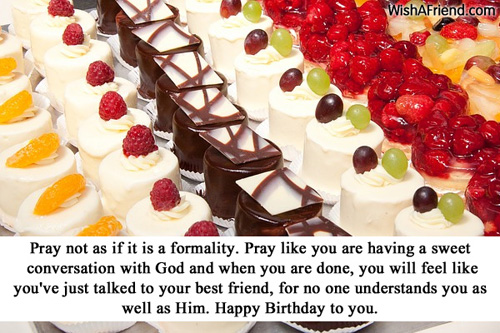 Christian Birthday Wishes