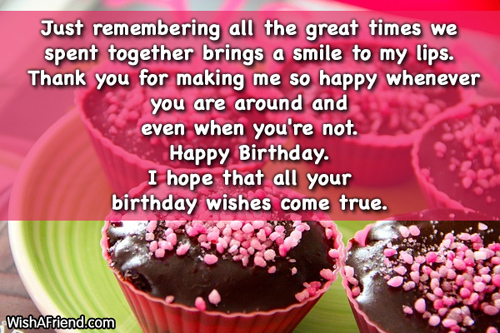 769 Cute Birthday Sayings