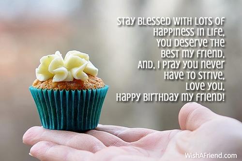7788 Best Friend Birthday Wishes