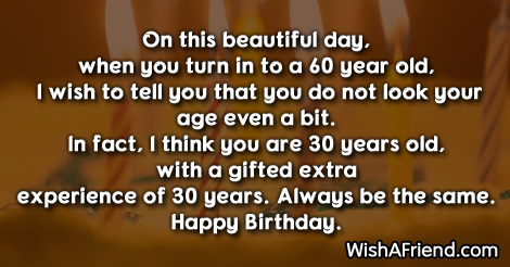 84 60th Birthday Sayings
