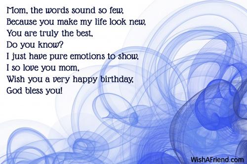 8907 Mom Birthday Wishes