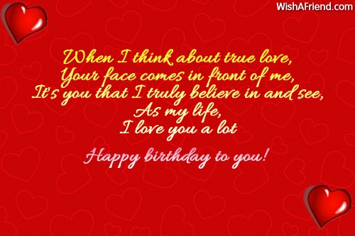 When i think about true love birthday wishes for husband 9320 husband birthday wishes m4hsunfo