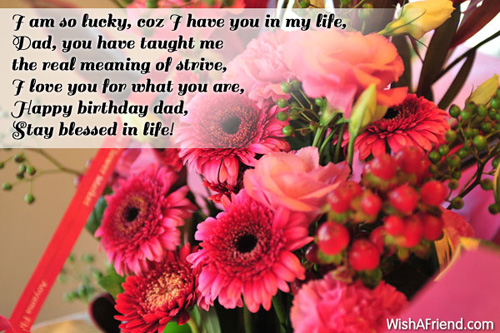 9499 Dad Birthday Wishes