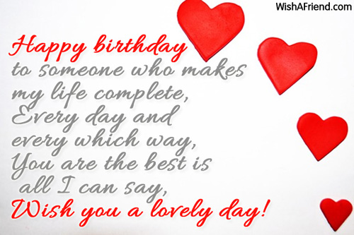 Birthday Wishes For Wife Page 4 – Wife Birthday Greetings