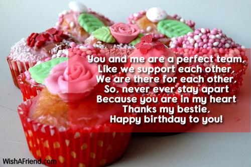 9528 Best Friend Birthday Wishes