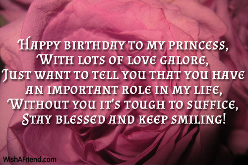 9548 Daughter Birthday Wishes