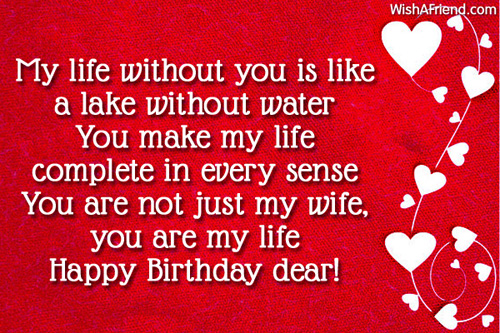 Birthday Wishes For Wife Page 2 – Happy Birthday Greeting for Wife