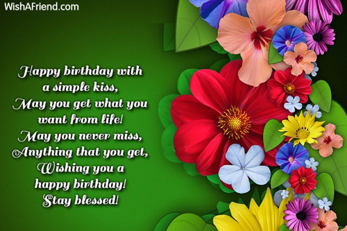 9718 Happy Birthday Greetings