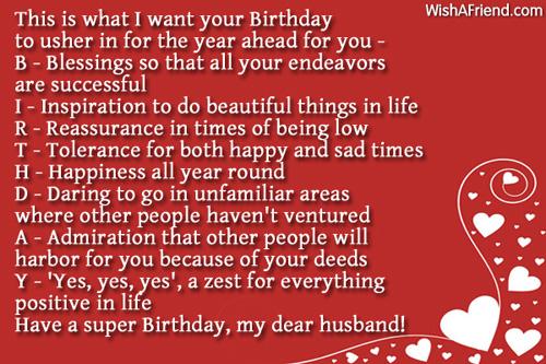 Birthday wishes for husband page 3 979 husband birthday wishes m4hsunfo