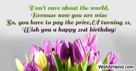 9881 21st Birthday Sayings