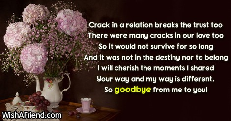 Breakup Messages for Girlfriend