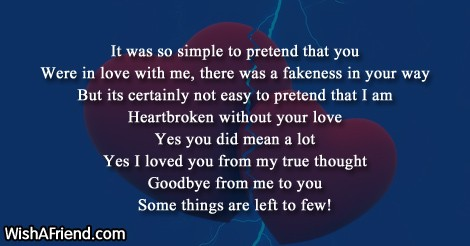 heartbroken without your love