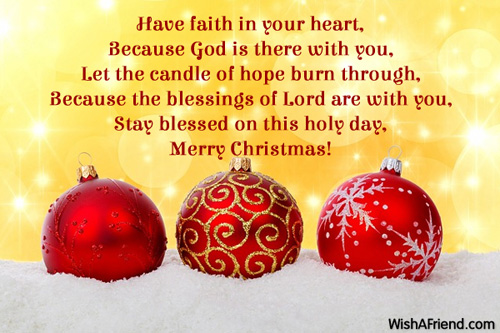 10048 christmas blessings - Have A Blessed Christmas