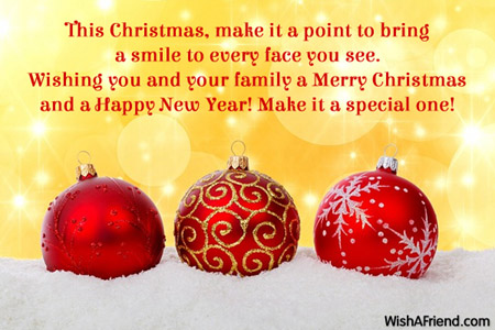 this christmas make it a point merry christmas message
