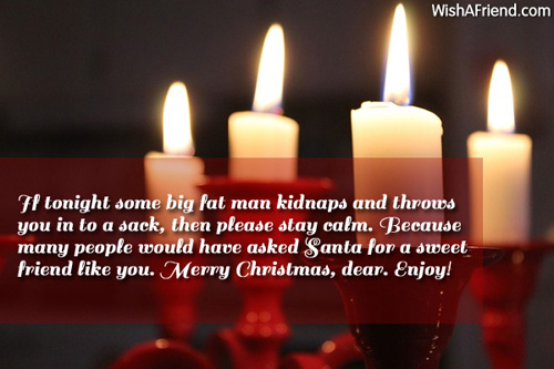 If tonight some big fat man funny christmas message 6144 funny christmas messages m4hsunfo