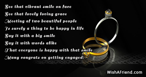 see that vibrant smile on face engagement quote