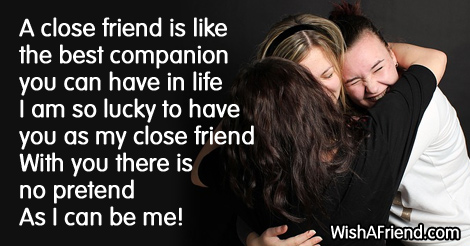 A Close Friend Is Like The Best Friends Sayings