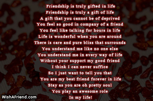 You are my best friend meaning in hindi