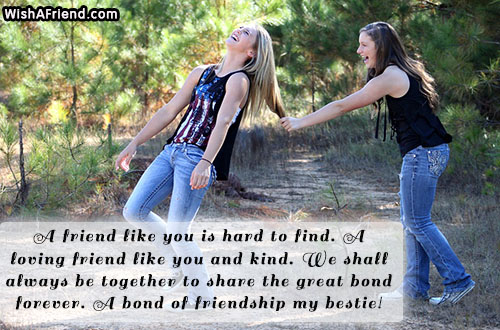 A Friend Like You Is Hard Best Friend Quote