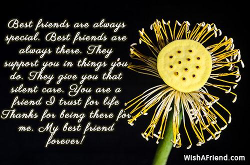 Best friends are always special Best, Best Friend Quote