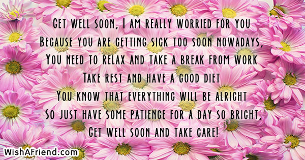 Get Well Soon I Am Really Get Well Soon Card Message