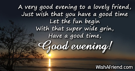 Image result for have a lovely evening images